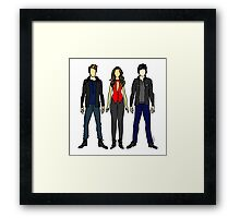 Outfits of Vamps Framed Print