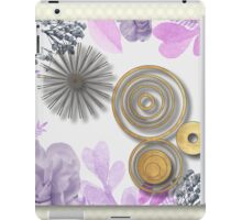Retro,vintage,geometric,abstract pattern, modern,trendy,girly,decorative, iPad Case/Skin