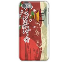 Traditional Japanese landscape iPhone Case/Skin