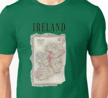 Ireland Vintage Map  Unisex T-Shirt