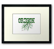 Oregon Roots Framed Print
