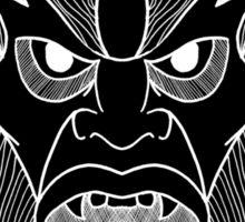 Beastman invert  Sticker