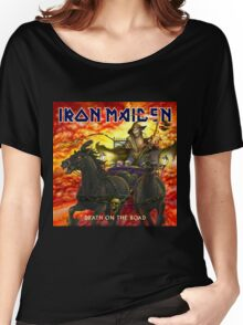 IRON MAIDEN HORSE ROAD Women's Relaxed Fit T-Shirt