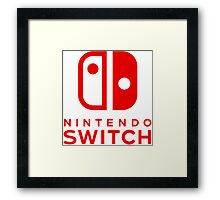 Nintendo Switch New Console Framed Print