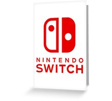 Nintendo Switch New Console Greeting Card