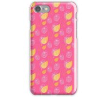 Apple festival on a pink iPhone Case/Skin