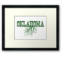 Oklahoma Roots Framed Print