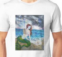 Into the Waves Original Oil Painting Prints Unisex T-Shirt