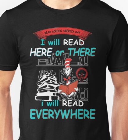 Read Across America Day - Dr Seuss Unisex T-Shirt