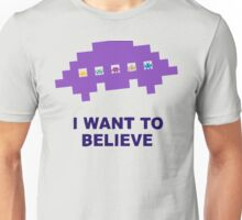 I Want To Believe Retro Aliens Unisex T-Shirt