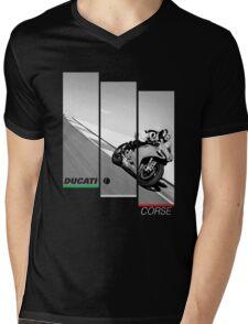 Ducati Corse Mens V-Neck T-Shirt