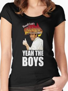 Russell Coight - Yeah Boys Women's Fitted Scoop T-Shirt