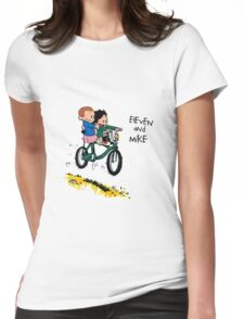 Eleven and Mike Womens Fitted T-Shirt