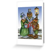 Caroling Cryptids Greeting Card
