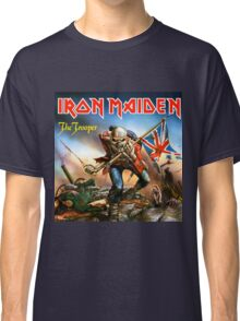 IRON MAIDEN AS TROOPERS Classic T-Shirt