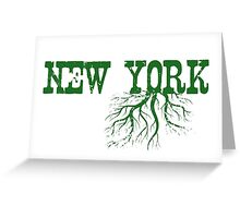 New York Roots Greeting Card