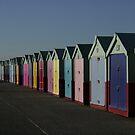 Beach huts of Hove, actually! by Profo Folia