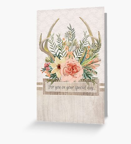 """Special Day"" Greeting Card Greeting Card"