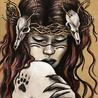 Akka Kuolo - Finnish Goddess of Nature and Death by HeatherRose