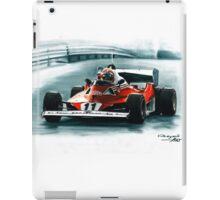 1977  Ferrari 312T6 iPad Case/Skin