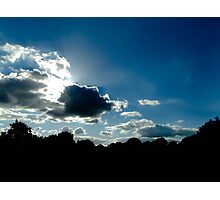 sunny clouds Photographic Print