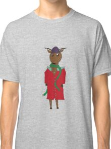 Diego the Deer in Winter Classic T-Shirt