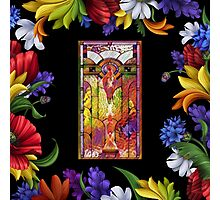 The Garden of Eternal Flowers Photographic Print