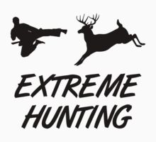 Extreme Hunting Karate Kick Deer T-Shirt