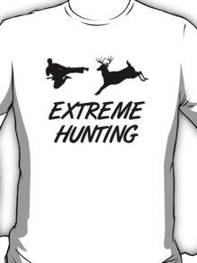 Extreme Hunting Karate Kick Deer T-Shirt