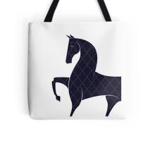 Patterned Horse Tote Bag