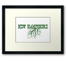 New Hampshire Roots Framed Print