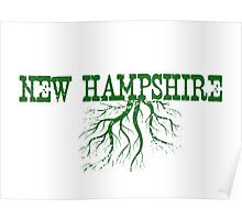 New Hampshire Roots Poster