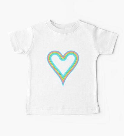 Heart Rainbow of Love T-Shirt Baby Tee