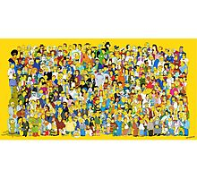 Characters - The Simpsons Photographic Print