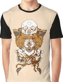 Sabertooth Tiger Graphic T-Shirt