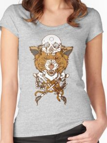 Sabertooth Tiger Women's Fitted Scoop T-Shirt