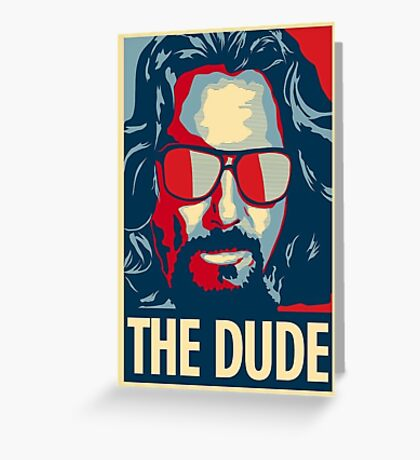 big lebowski Greeting Card