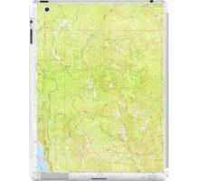 USGS TOPO Map California CA Childs Hill 289186 1966 24000 geo iPad Case/Skin