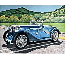 MG IN THE BERKSHIRES Photographic Print