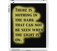 Twilight Zone Quote iPad Case/Skin
