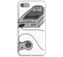 SNES - SUPER NINTENDO iPhone Case/Skin