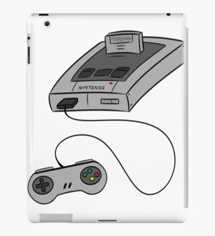 SNES - SUPER NINTENDO iPad Case/Skin