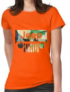 jeep 2 Womens Fitted T-Shirt