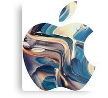 apple logo Metal Print