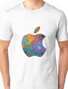 apple logo 2 Unisex T-Shirt