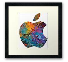 apple logo 2 Framed Print