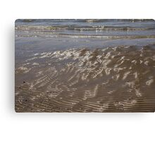 Painted by the Waves -  Canvas Print