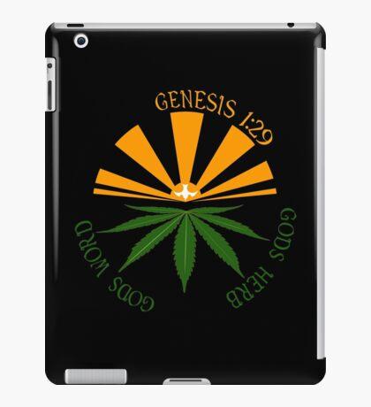 gods herb  iPad Case/Skin