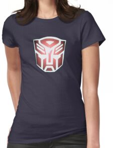 Autobot Womens Fitted T-Shirt