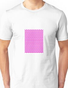 CHEVRON PINK Unisex T-Shirt